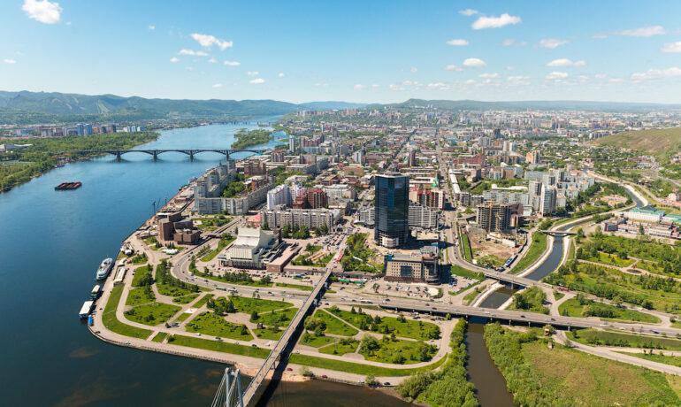 Места для отдыха в Красноярске