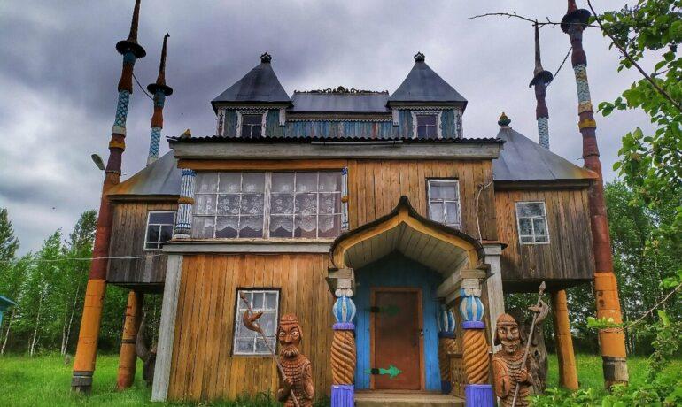Пермская деревянная скульптура - путешествие в глубь веков