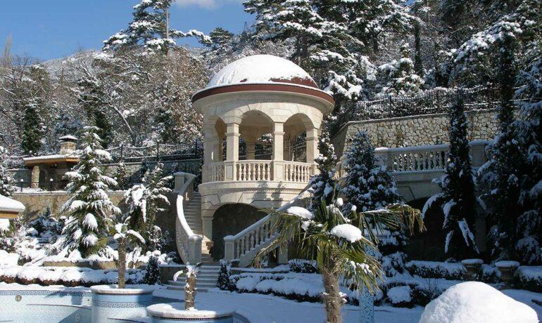 Сказка зимнего Крыма
