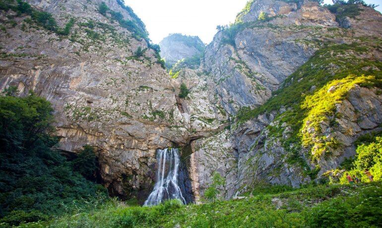 Достопримечательности Абхазии: Гегский водопад