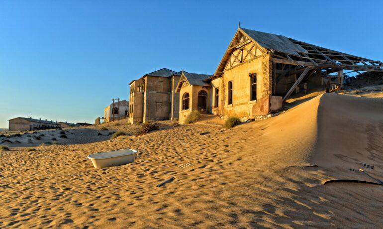 Колманскоп - город-призрак, который почти утонул в песке