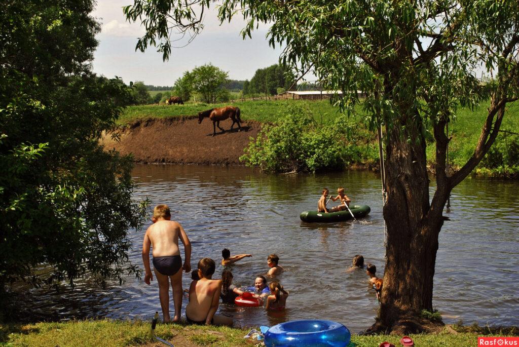 Отдых в деревне летом во время коронавируса