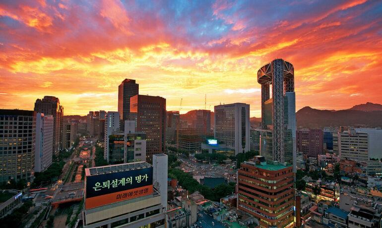 Сеул – город весны и цветов