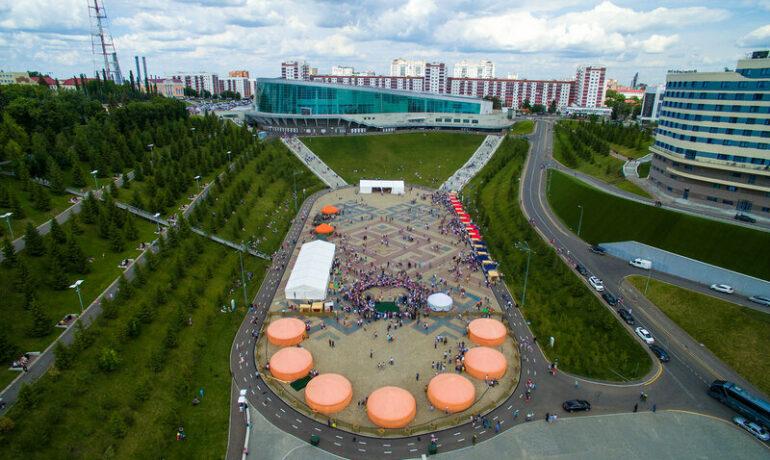 Этнический парк Ватан в городе Уфа