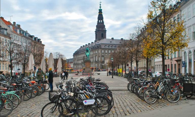Дания - рай для велосипедистов