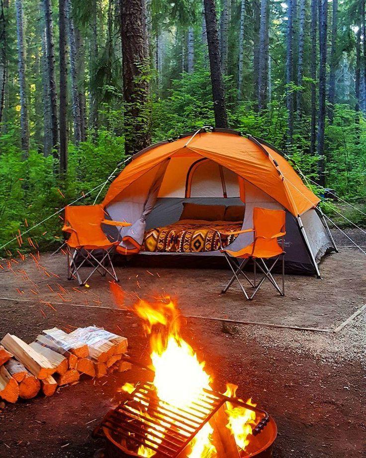 Отдых в палатках летом