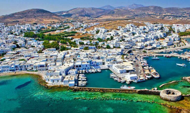 Туристическая Греция. Остров Парос