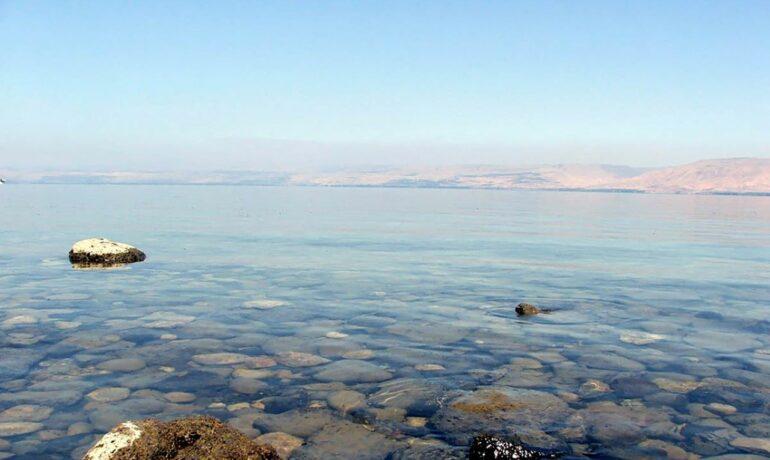 Галилея. Галилейское море Израиль
