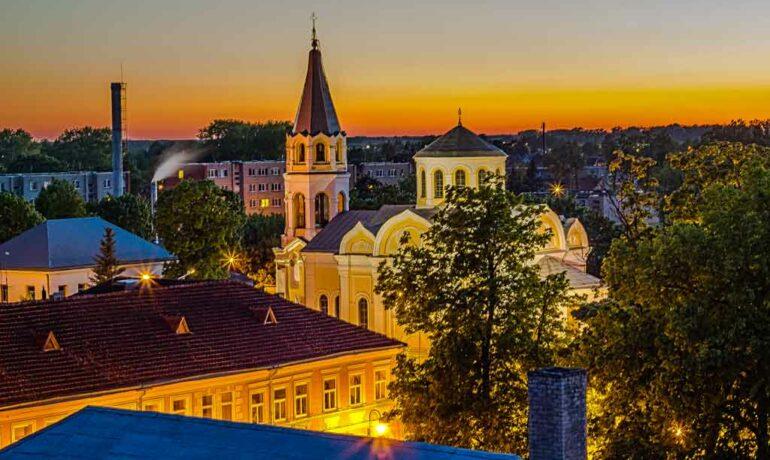Укмерге - старинный и уютный городок в Литве