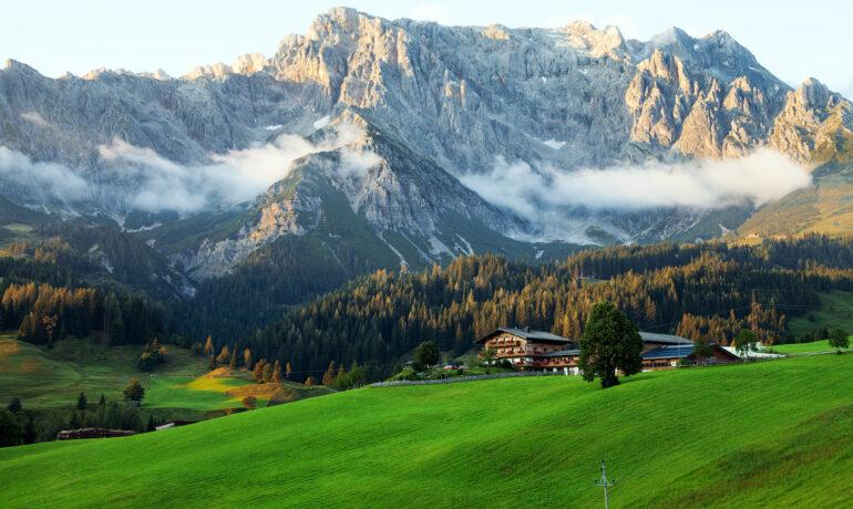 Чарующая атмосфера Австрийских Альп