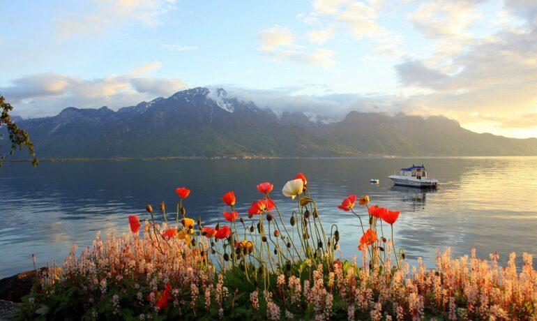 Регион Женевского озера в Швейцарии