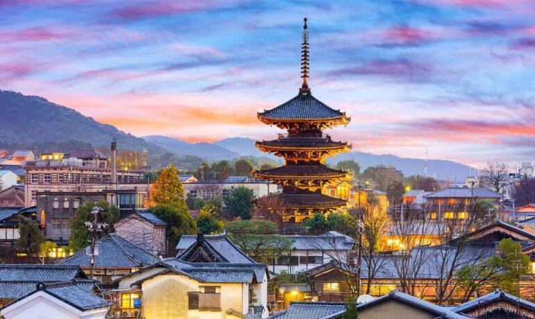 Киото - красивый курортный город, расположенный в легендарных Андах