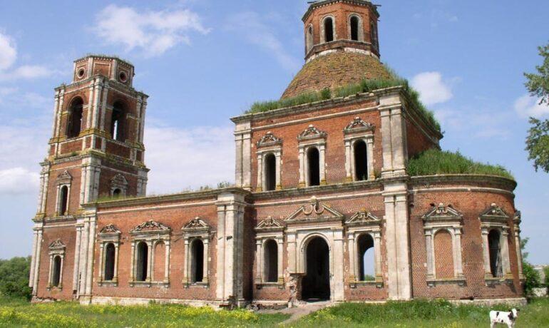 Храмы древнего города Михайлова и его окрестности