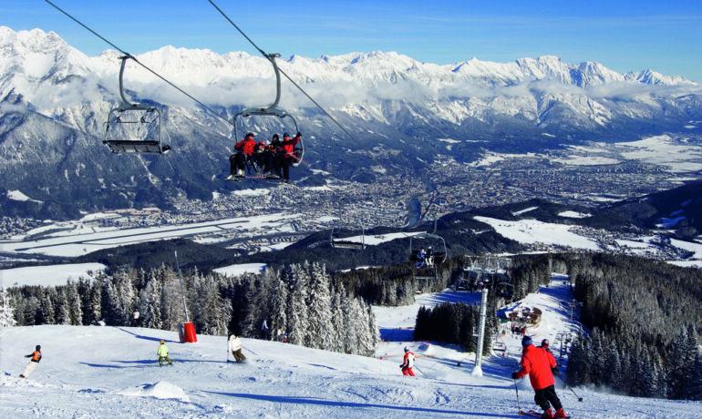 Как активно провести отдых на горнолыжных курортах Тироля, Австрия