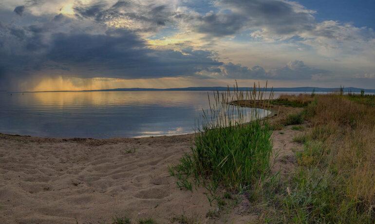 Отдых на озере Арахлей, Забайкальский край