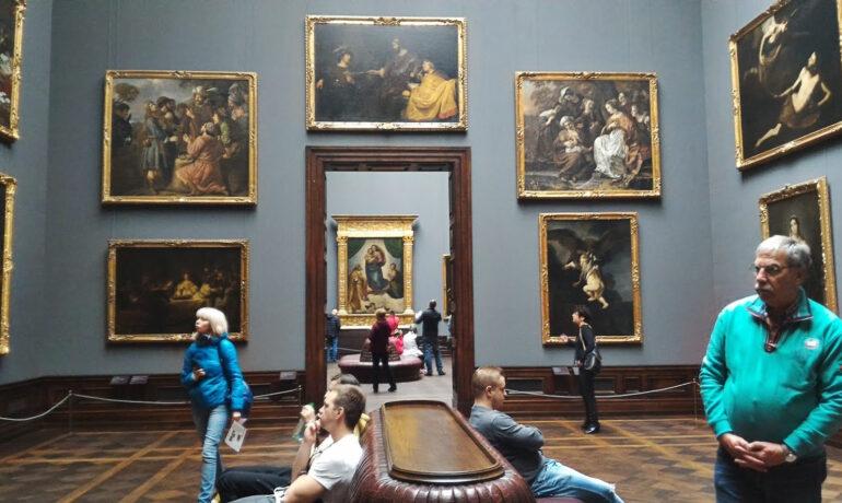 Дрезденская картинная галерея, Германия