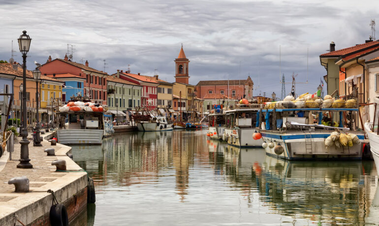 Чезенатико, Италия – рыбацкая деревня XIX века