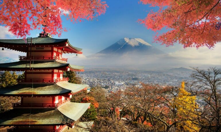 Живописные места Японии