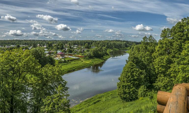 Путешествие в город Руза Московской области