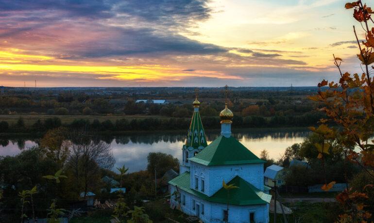Старинный город Спасск-Рязанский