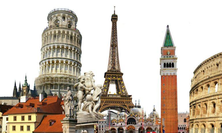Топ-10 достопримечательностей Европы
