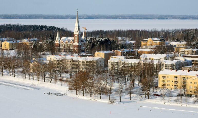 Самобытный город Йоэнсуу в Финляндии