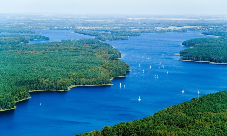 Необыкновенная красота озёр Польши
