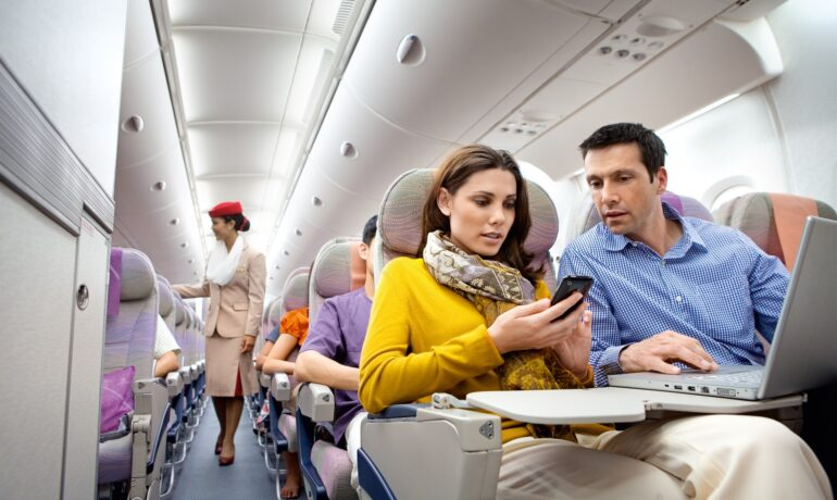 Этикет при путешествии на самолете