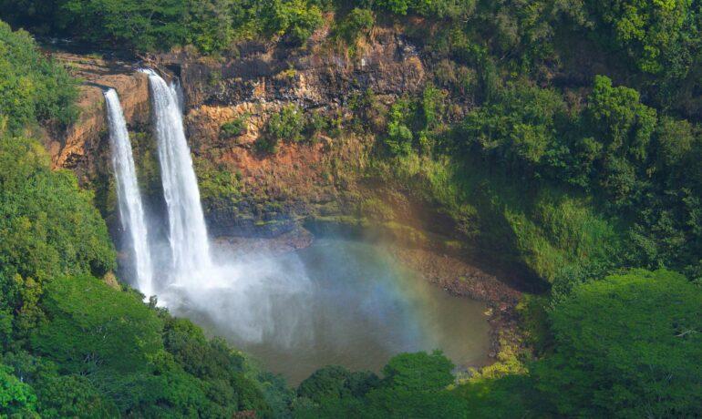 10 лучших водопадов на Гаваях
