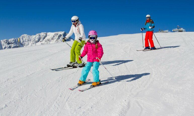 Где кататься на лыжах с ребенком