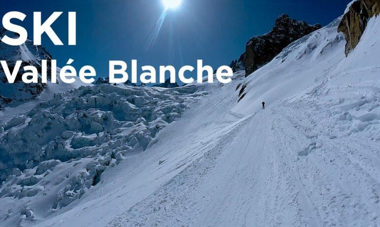 Катание на лыжах. La Vallee Blanche