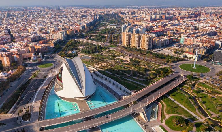 Выбор путешествия: Валенсия, Испания.