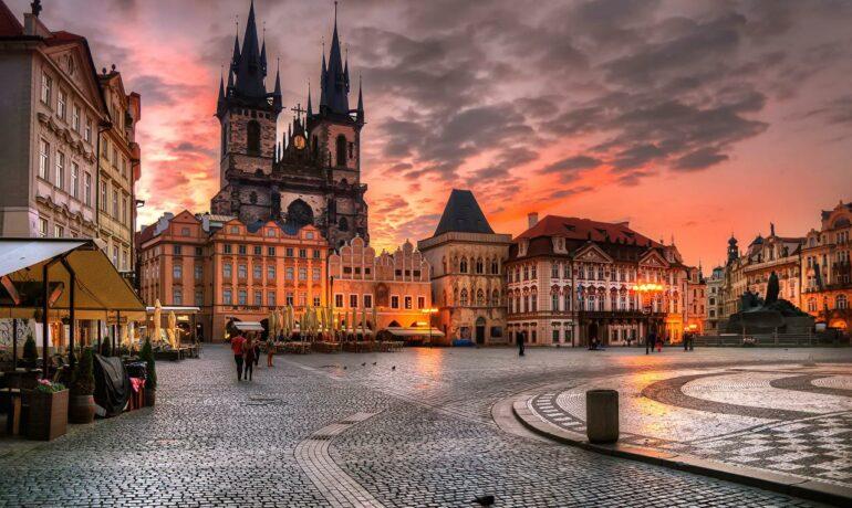 Города Чехии, большие и маленькие
