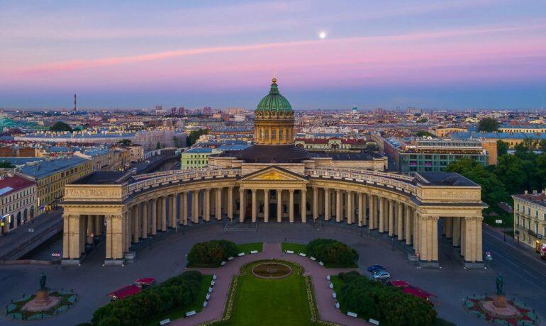 Дворцы и соборы Исторического центра Санкт-Петербурга. Казанский Собор