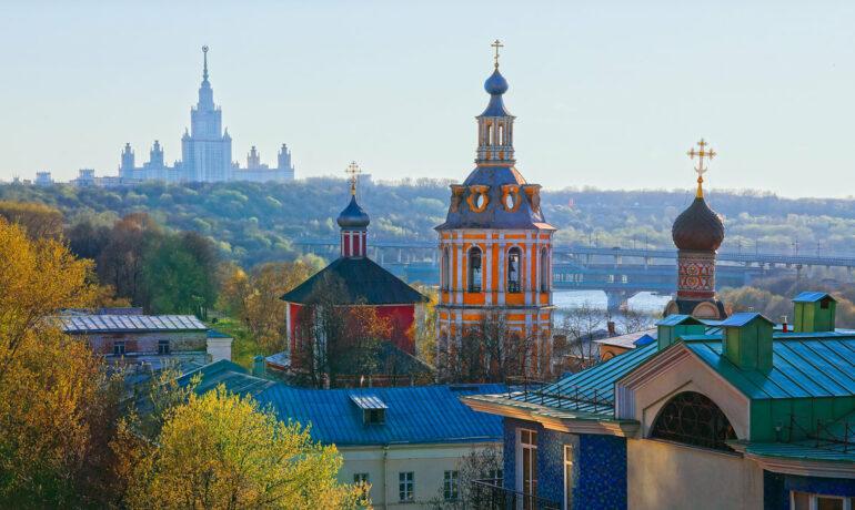 Древние монастыри Москвы