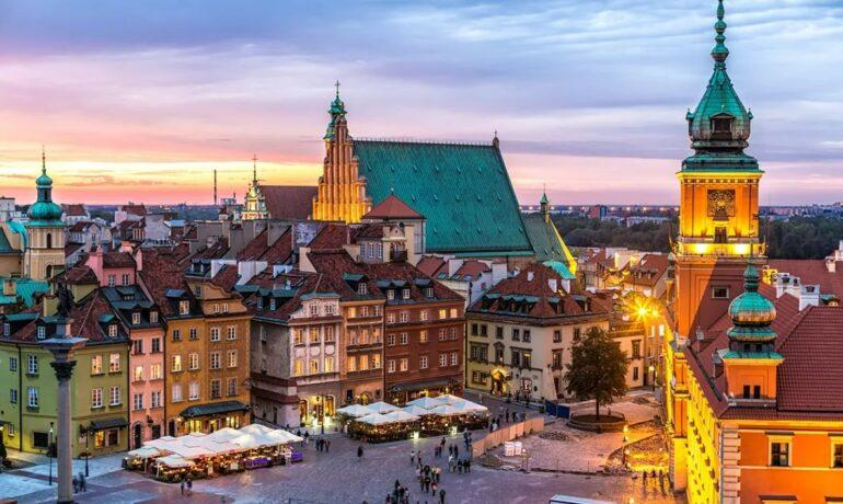 Архитектурные и исторические достопримечательности Варшавы