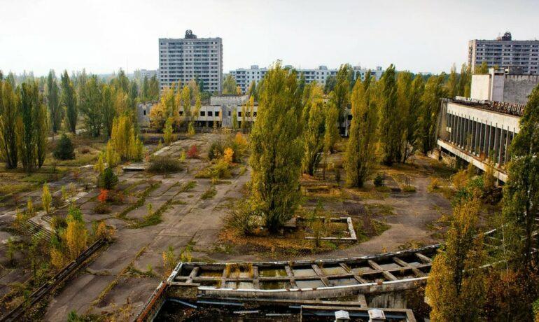 Путешествие в призрачный город Чернобыль