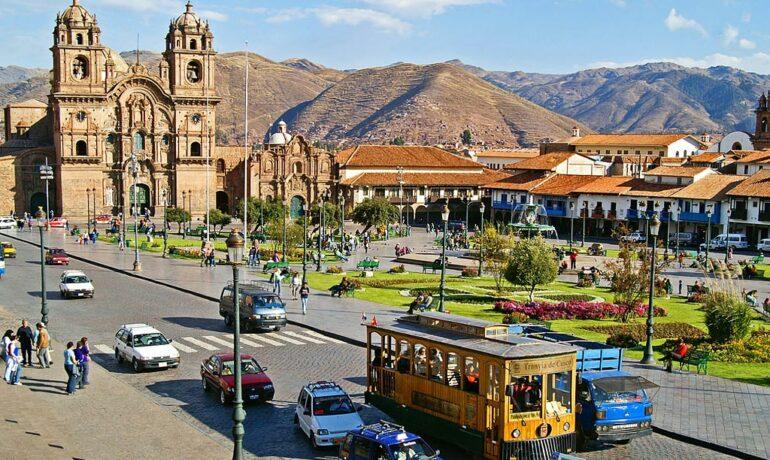 Исторический центр Куско. Достопримечательности Перу.