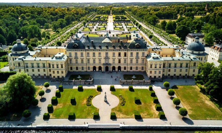 Королевская резиденция Дроттнингхольм, Швеция