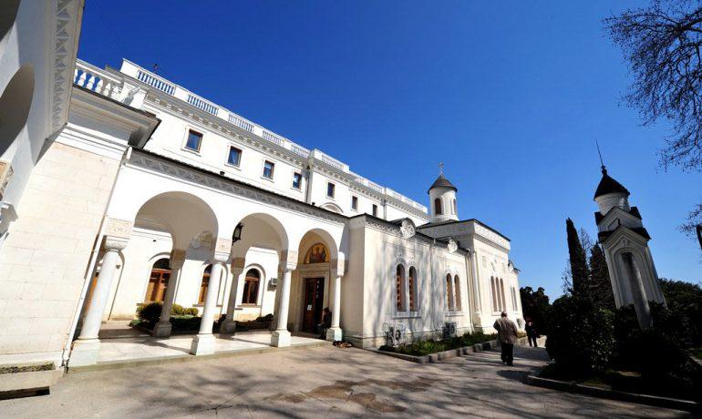Достопримечательности Крыма: Крестовоздвиженская церковь в Ливадии