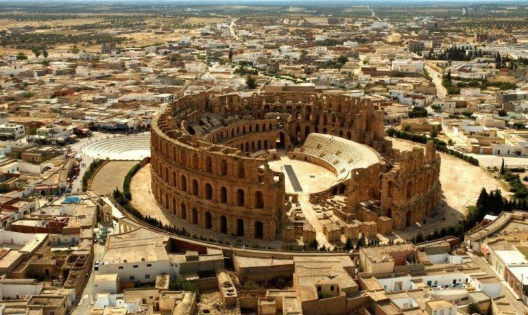 Путешествие по Тунису: город Эль-Джем