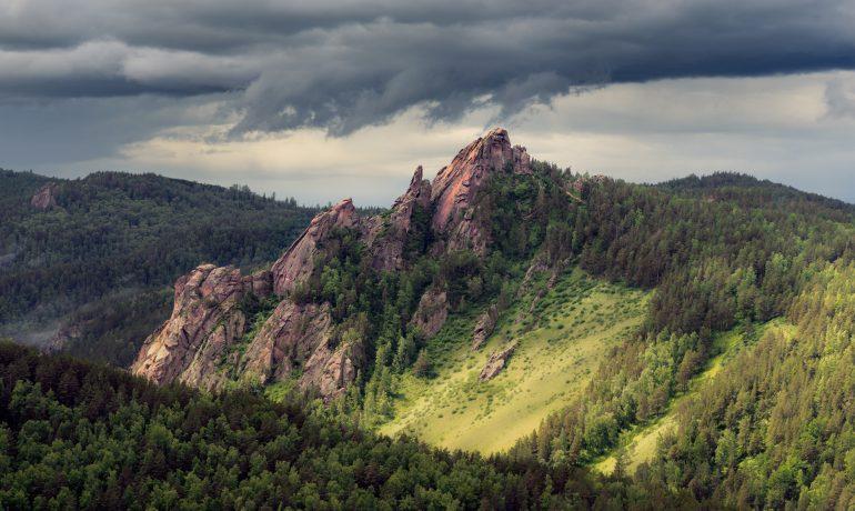 Скала Такмак — главное чудо природы рядом с Красноярском, Россия