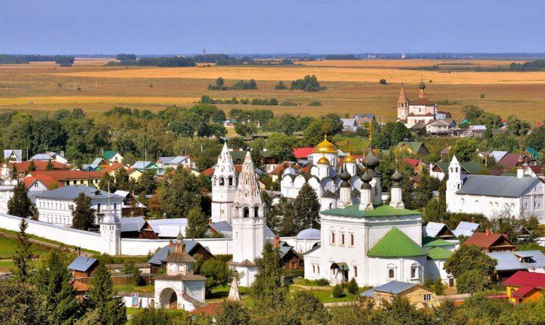 Суздаль - уголок Древней Руси в XXI веке