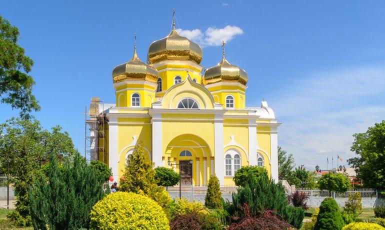 Кафедральный Собор Иоанна Предтечи в Комрате, Молдова