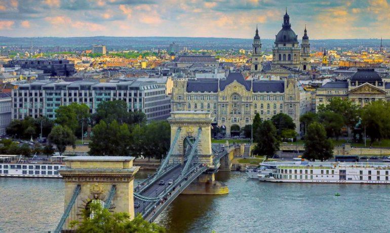 История самых красивых мостов Будапешта, Венгрия