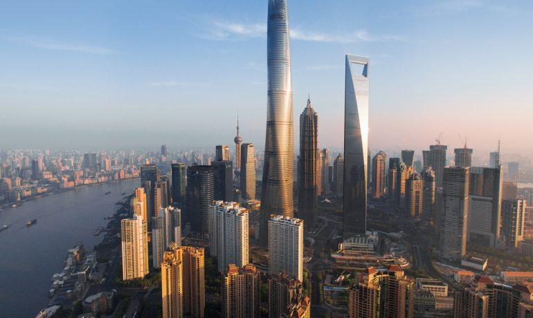 Шанхайская башня — самая высокая башня Китая
