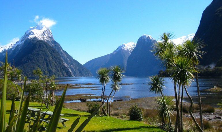 Новая Зеландия - прекрасная природа и место съёмок популярного фильма