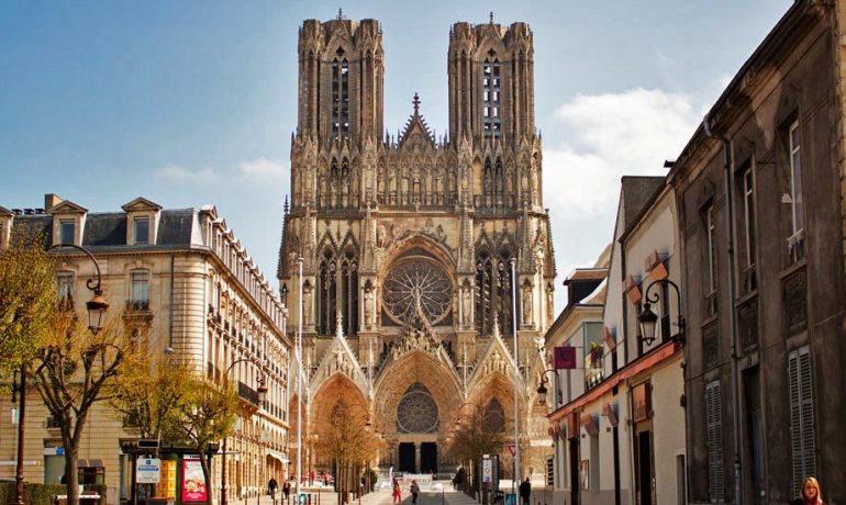 Кафедральный Реймсский собор, бывший монастырь, Франция
