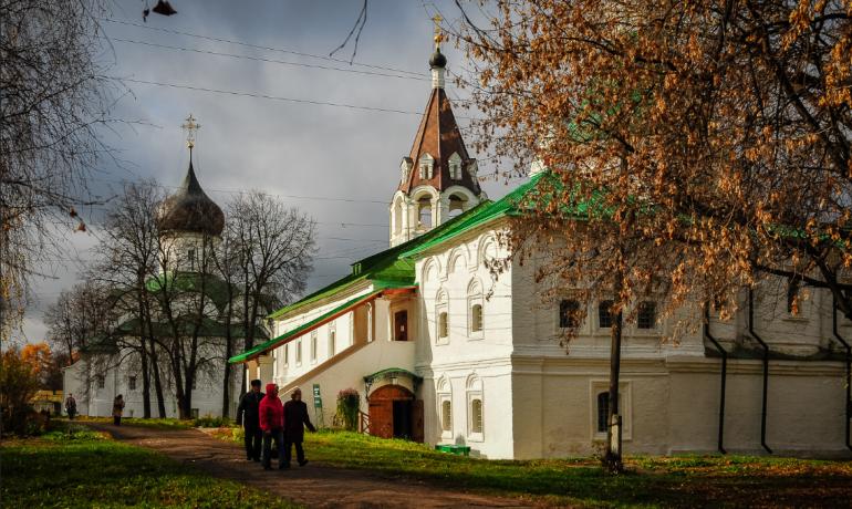 Достопримечательности и история города Александров