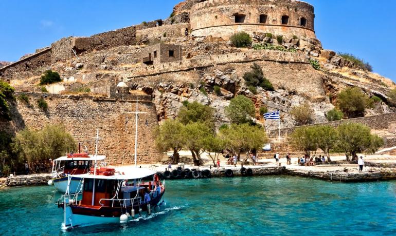 Мир реликвий курортного острова Крит, Греция